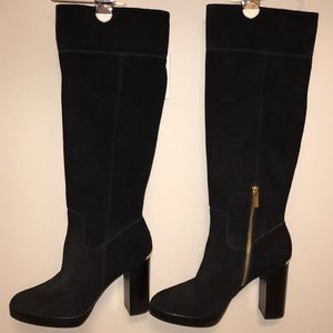 (Never Worn!) Michael Kors Black Suede Boots